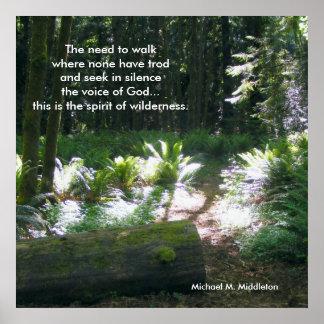 Anden av vildmarken poster