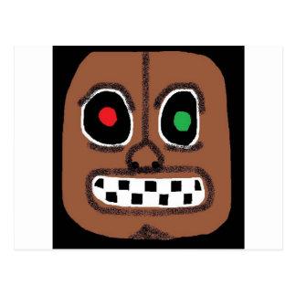 anden maskerar vykort