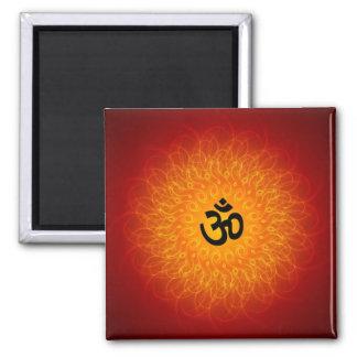Andlig Om-Mandala Magnet För Kylskåp