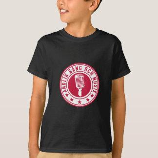 Andlig sång & musik - badge t shirt