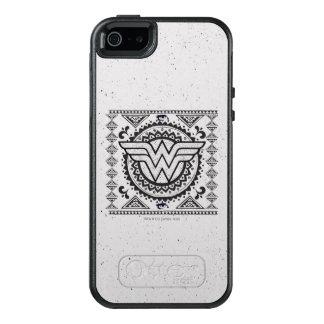 Andlig stam- design för undra kvinna OtterBox iPhone 5/5s/SE skal