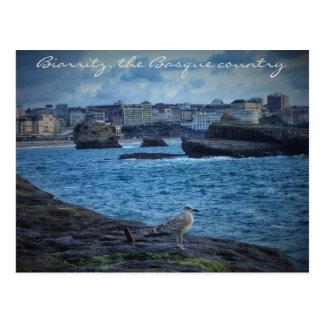 """""""Ändlös väntan"""" - Biarritz Vykort"""