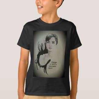 Ändra är INTE en åskådar- sport T Shirts