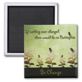 Ändra fjärilscitationstecknet magnet