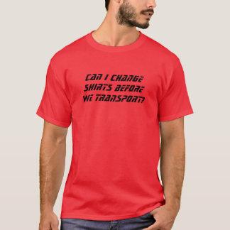 Ändra skjortor t-shirt