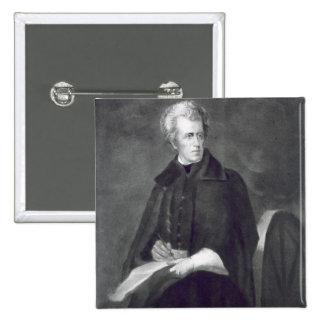 Andrew Jackson 7:epresident av Förenta staterna Standard Kanpp Fyrkantig 5.1 Cm