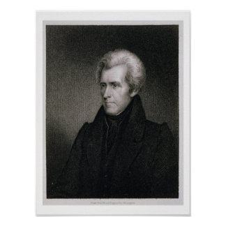 Andrew Jackson (gravyr) Poster