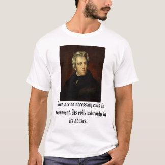 Andrew Jackson tillskrivade till Thomas befläcker, T Shirt