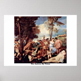 Andrieren vid Titian Poster
