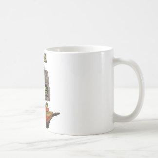 Androidpirat på en frakt kaffemugg