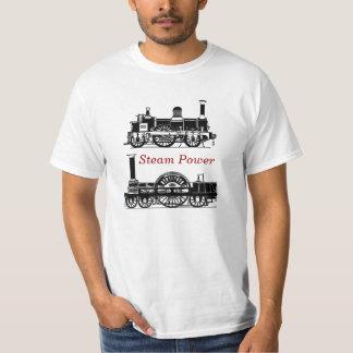 Ånga driver - ångatåglokomotiv - Steampunk T Shirt