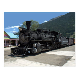 Ångalokomotiv 482, Durango & Silverton Vykort