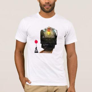 Ångatåg- och järnväglandskap t shirt