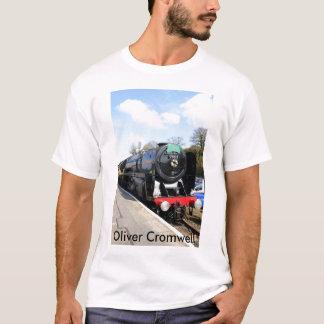 """Ångatåg""""Oliver Cromwell"""" T-tröja T Shirts"""