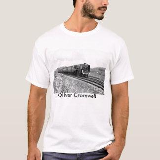 """Ångatåg""""Oliver Cromwell"""" T-tröja Tee"""