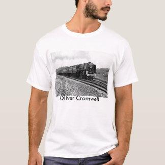 "Ångatåg""Oliver Cromwell"" T-tröja Tee Shirt"