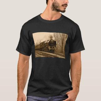 Ångatågt-skjorta T-shirts