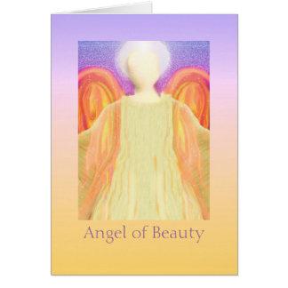 Ängel av skönhet hälsningskort