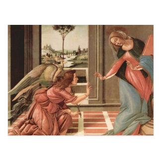 Ängel Gabriel och Mary Vykort