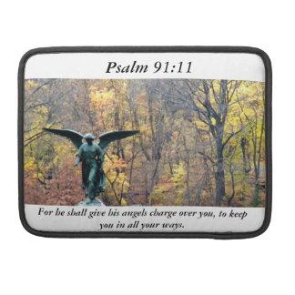 Ängel i 91:11 för Psalm för sleeve för skogenMac-b Sleeves För MacBook Pro