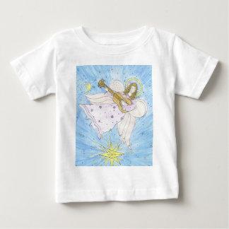 ängel med gitarrbebist-skjortan tee