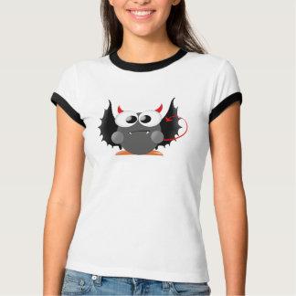 Ängel- och djävulentecknaddesign t shirts