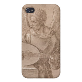 Ängel som leker en lute, 1491 iPhone 4 cover