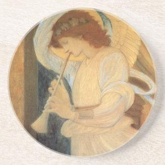 Ängel som leker flageoleten av Burne Jones Underlägg Sandsten