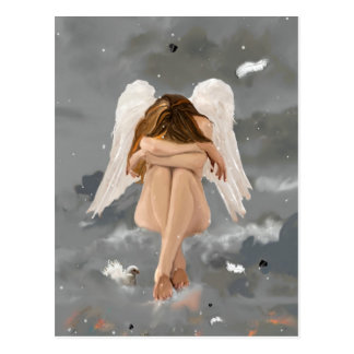 Ängel vykort