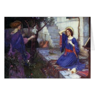 ÄngelPre-Raphaelitejulkort Hälsningskort