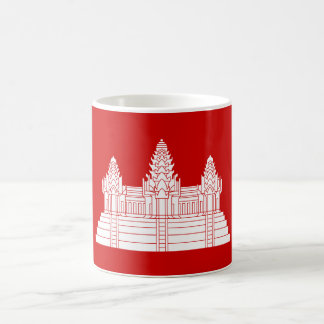 Angkor Wat Ver.2.0. Khmertempel Kaffemugg