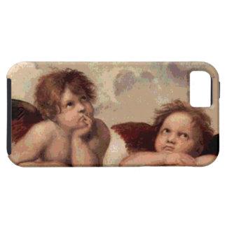 Änglar av Sistinen Madonna vid Raphael iPhone 5 Case-Mate Fodral