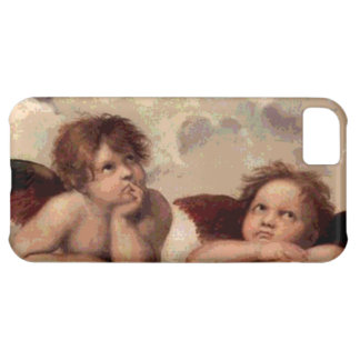 Änglar av Sistinen Madonna vid Raphael iPhone 5C Fodral