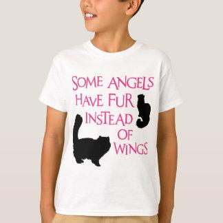 Änglar med päls t-shirt