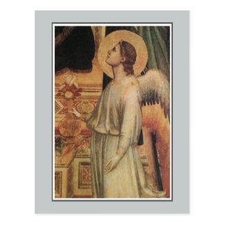 Änglar Ognissanti Madonna, Giotto Vykort
