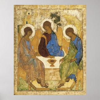 Änglar på Mamre Trinity Poster