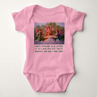 Änglar uppmuntrar den begynna onsierankan tee shirt