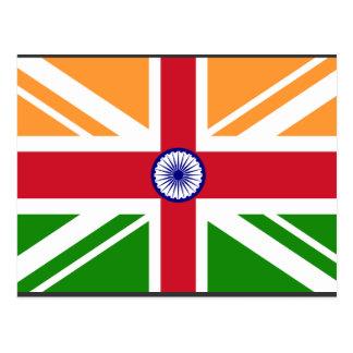 Anglo indiska Indentity, Indien Vykort