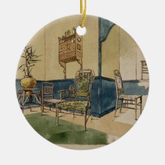 Anglo-Japan designer, c.1860 (skriva & svärta Julgransprydnad Keramik