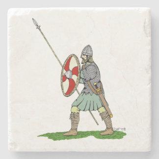 Anglo-Saxon krigare Stenunderlägg
