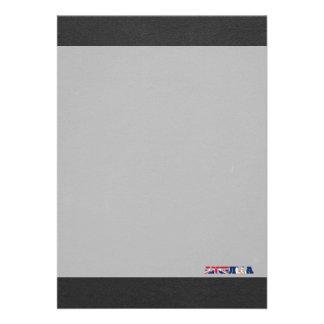 Anguilla flaggastilsort 12,7 x 17,8 cm inbjudningskort