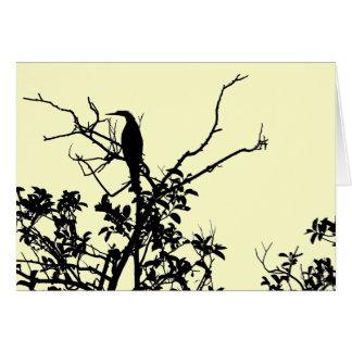 Anhingafågel Hälsningskort