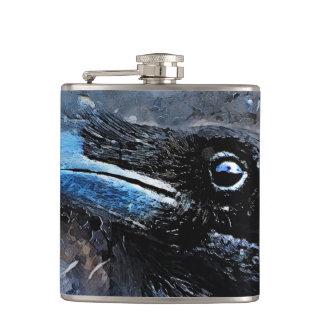 #animals för #bird för kråkakonst#crow fickplunta