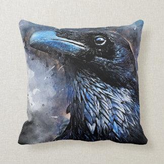 #animals för #bird för kråkakonst#crow kudde
