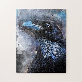 #animals för #bird för kråkakonst#crow pussel