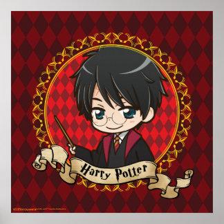Anime Harry Potter Poster