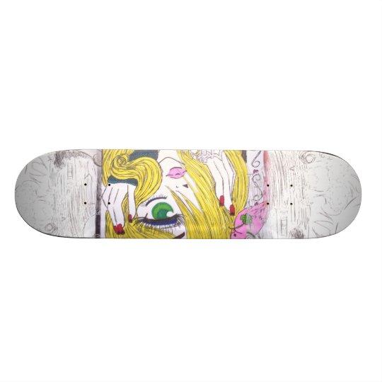 Anime Old School Skateboard Bräda 21,6 Cm