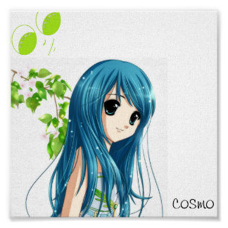 anime vid cosmo poster