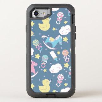 Ankababy shower OtterBox defender iPhone 7 skal
