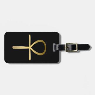 Ankh argt egyptiskt symbol bagagebricka